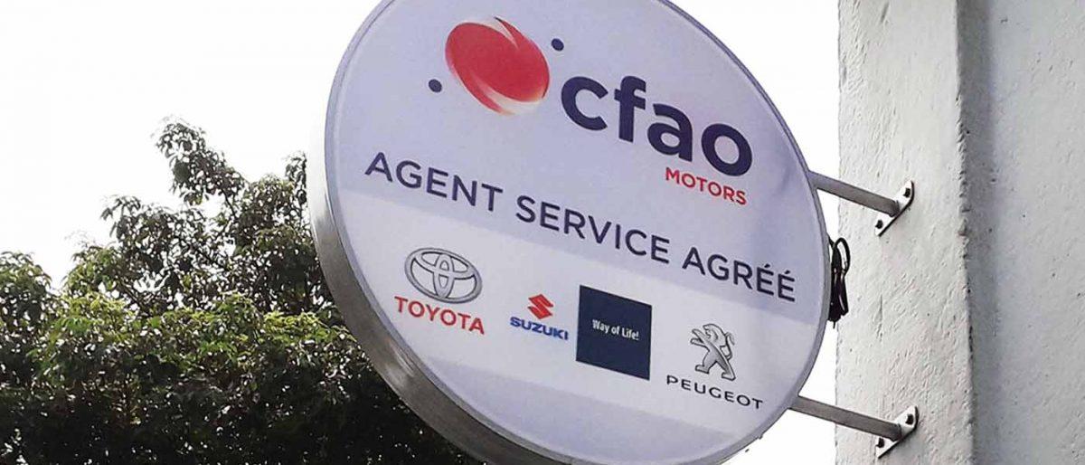 Permalien vers:Agent agréé CFAO